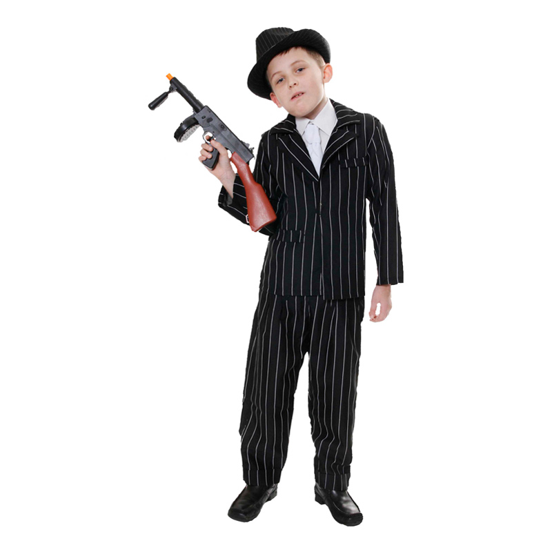 Maskeradkläder Barn - 20-tals Gangster