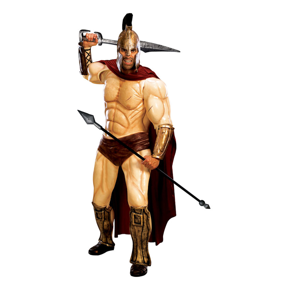 300 Spartan Supreme Maskeraddräkt