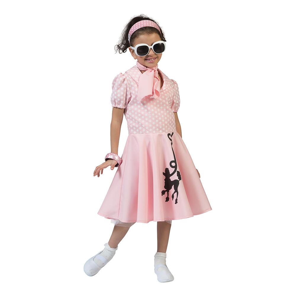 Maskeradkläder Barn - 50-tals Klänning
