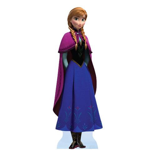 Anna Frost/Frozen Kartongfigur