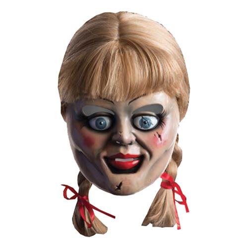 Annabelle Mask med Peruk