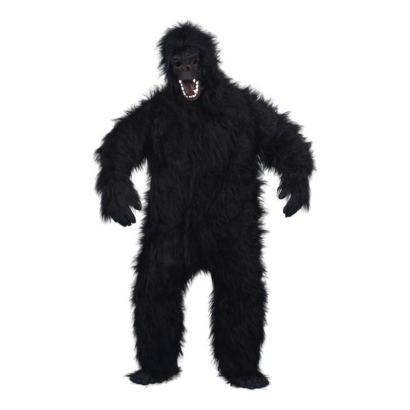 Arg Gorilla Maskeraddräkt