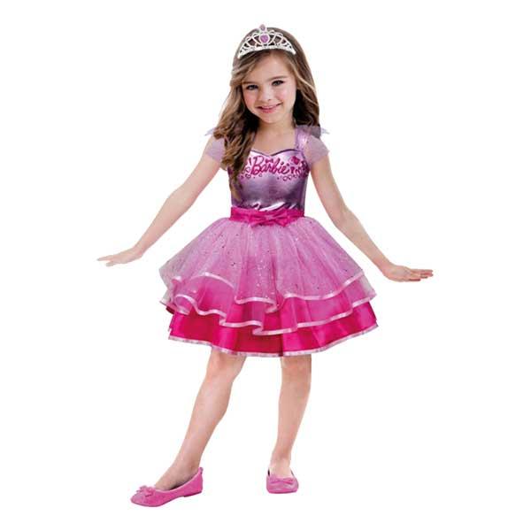 Ballerina Rosa Barn Maskeraddräkt