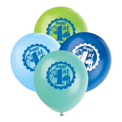 Ballonger 1-årskalas Blåmix
