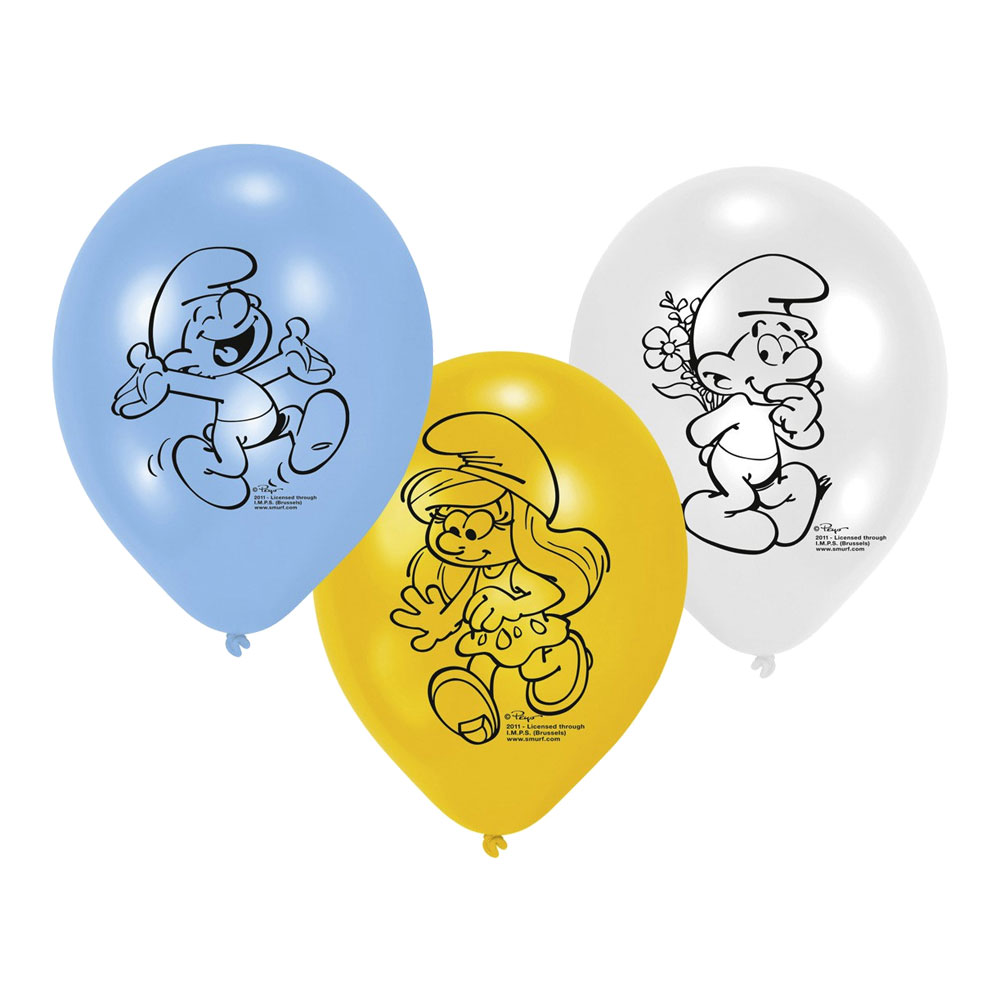 Ballonger Smurfarna