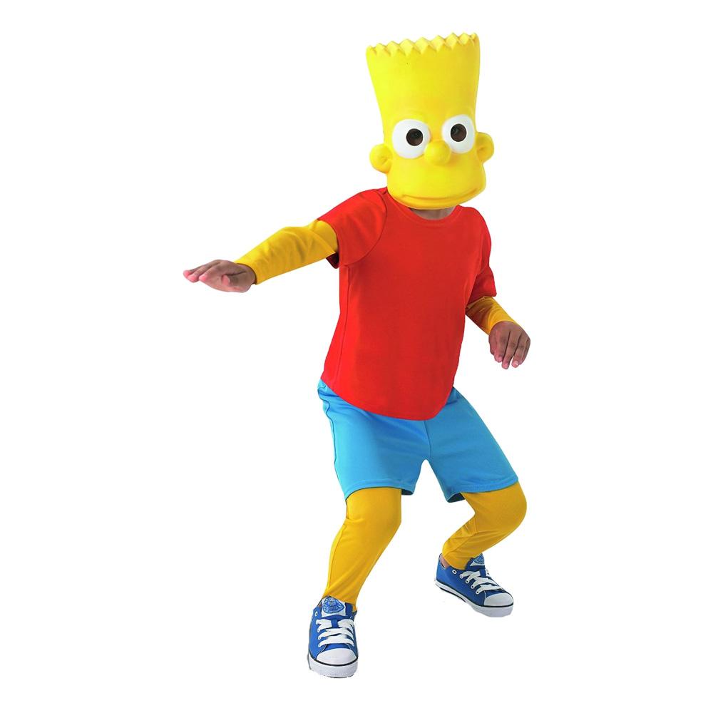 Maskeradkläder Barn - Bart Simpson