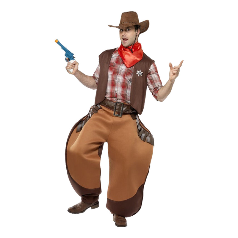 Big Bad John Cowboy Maskeraddräkt