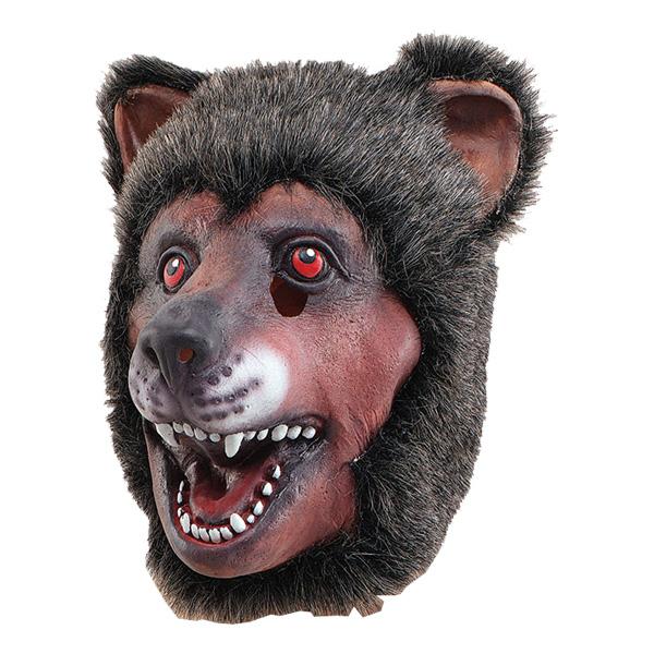 Björnmask i Gummi