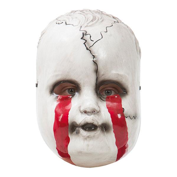 Blodig Docka Mask