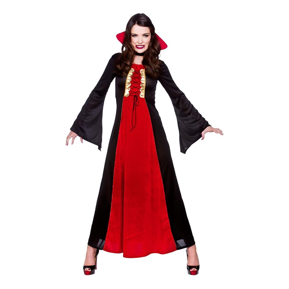 Blodtörstig Vampyra Maskeraddräkt