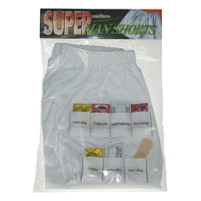 Boxershorts med Kondomer