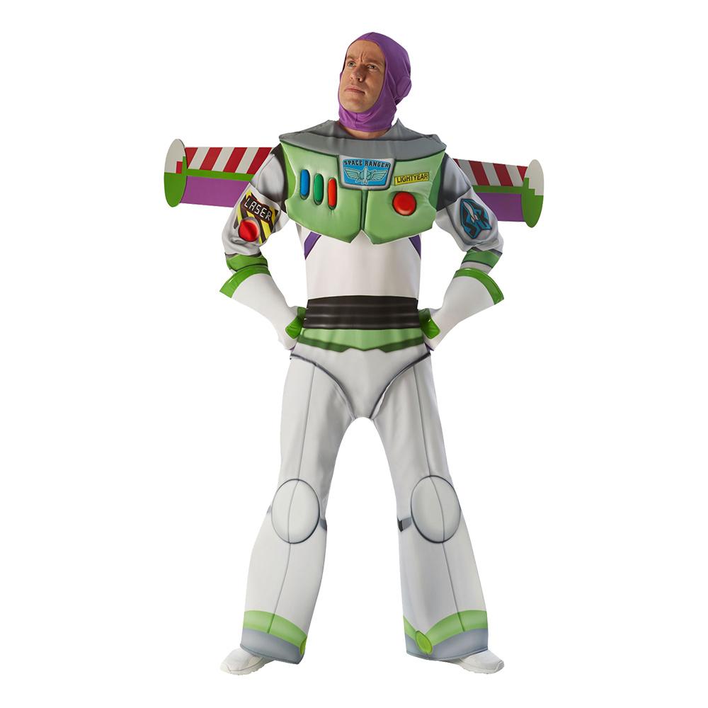 Buzz Lightyear Super Deluxe Maskeraddräkt