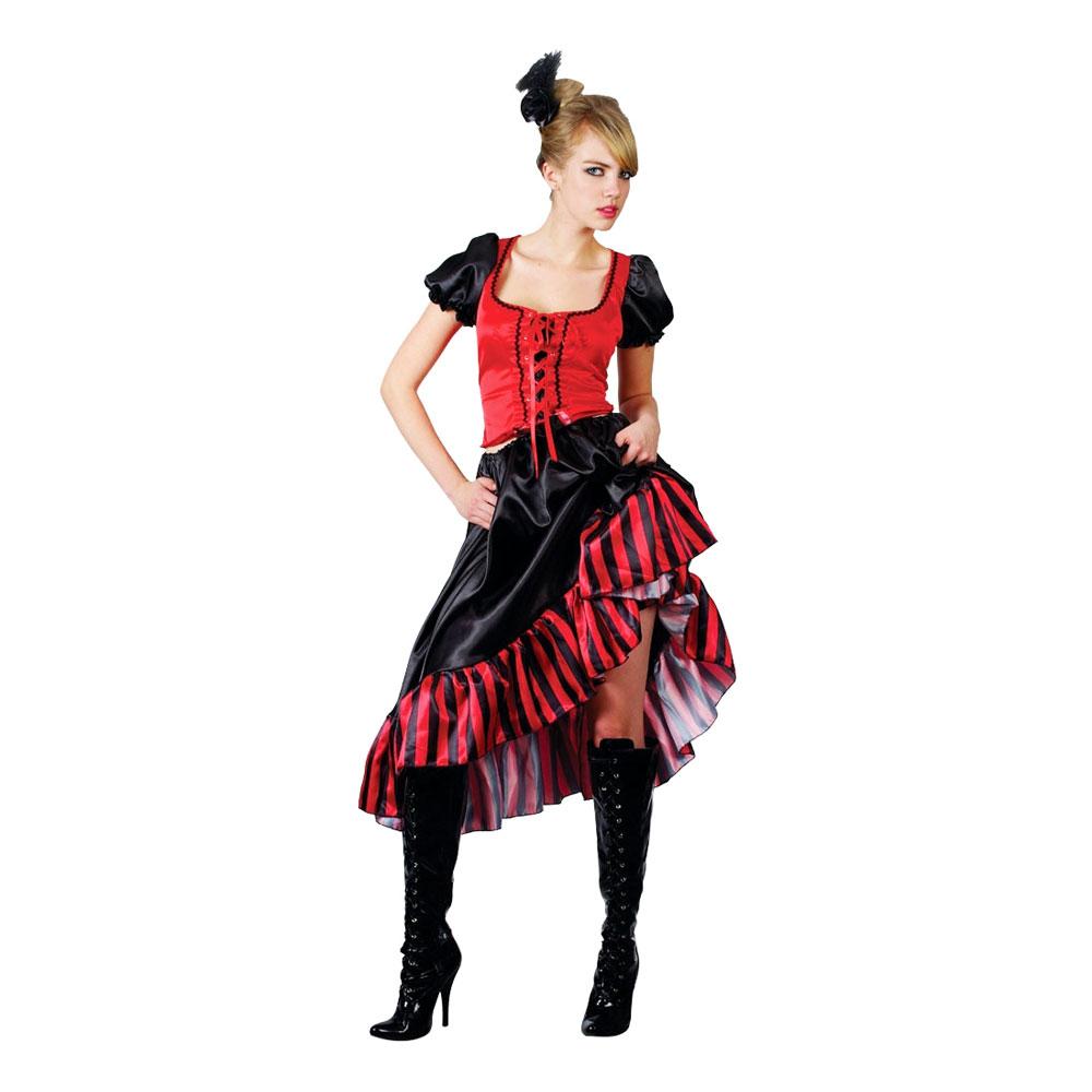 Can Can Saloongirl Maskeraddräkt