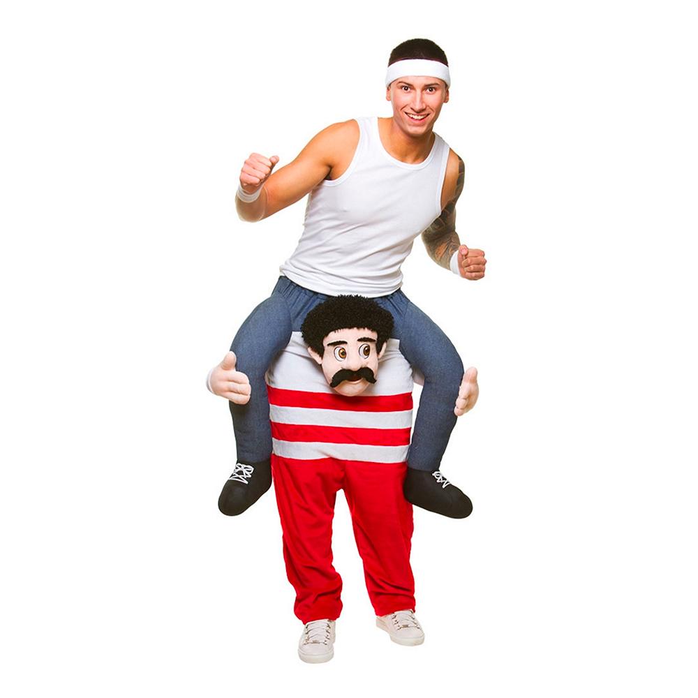 Carry Me 80-tals Atlet Maskeraddräkt
