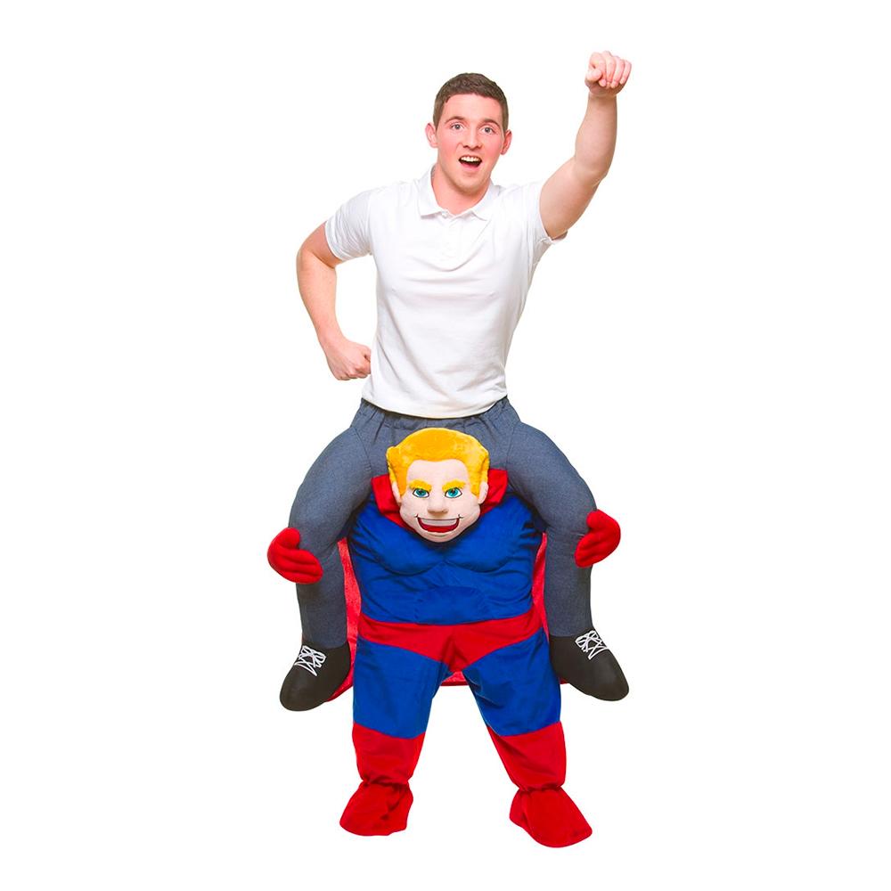 Carry Me Superhjälte Maskeraddräkt
