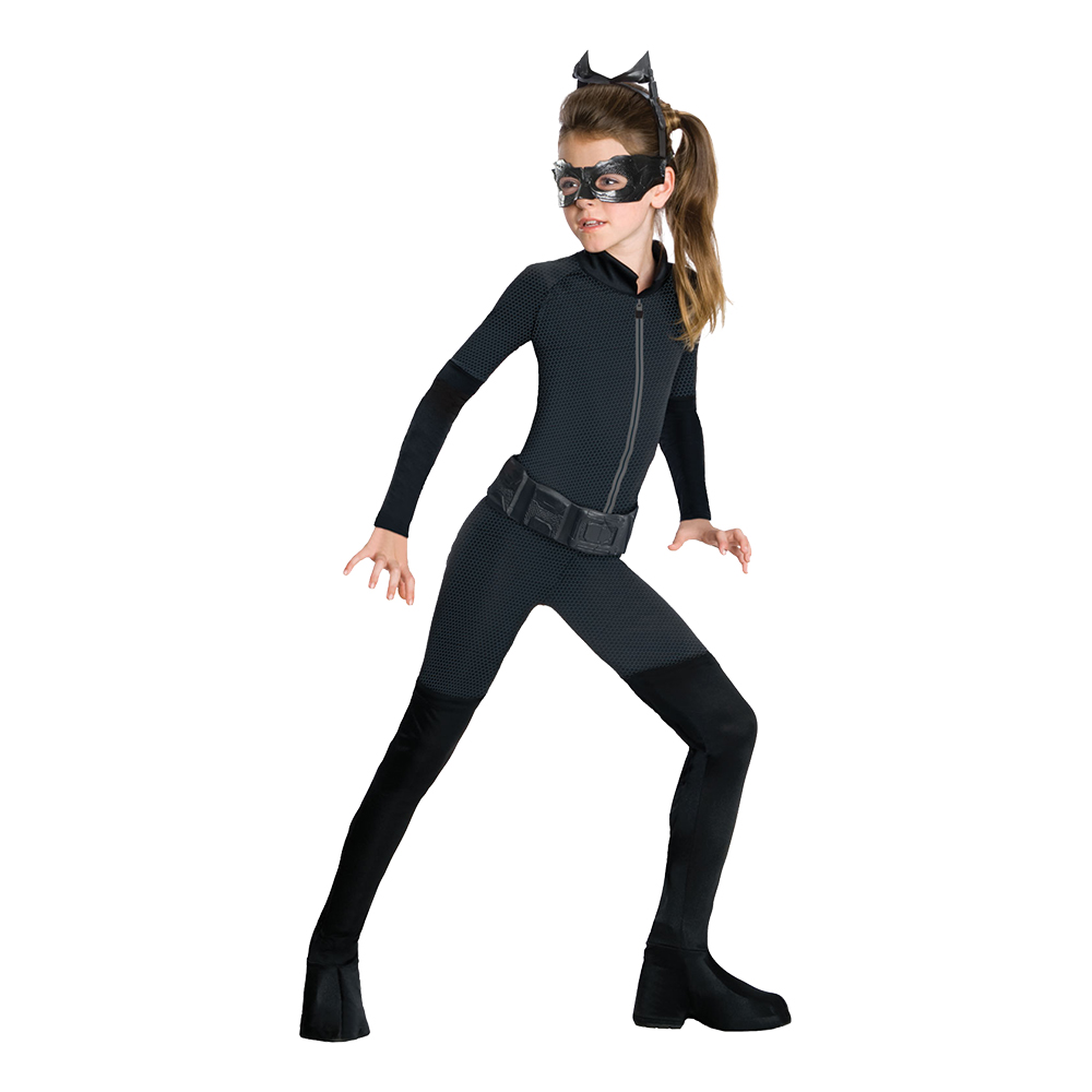 Catwoman Barn Maskeraddräkt