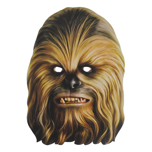 Chewbacca Pappmask