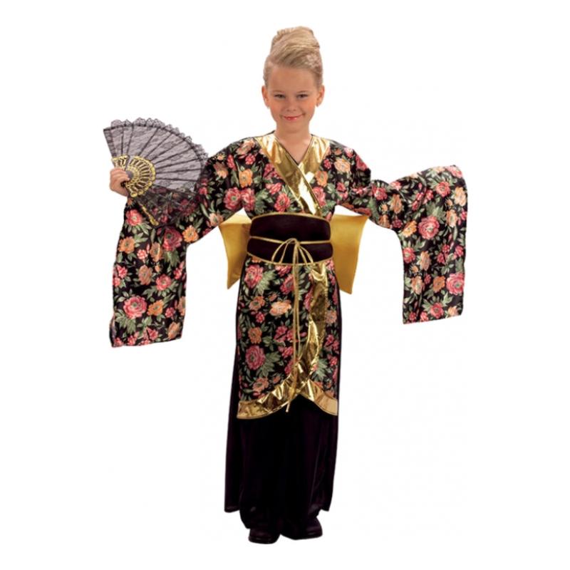 Japansk Geisha Barn Maskeraddräkt
