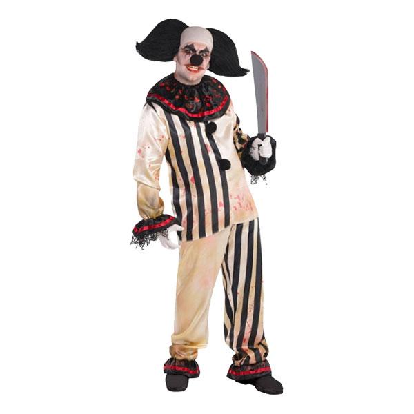 Clown Freakshow Maskeraddräkt