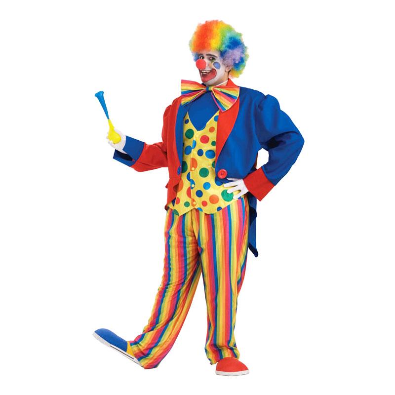 Clown Plus-size Maskeraddräkt