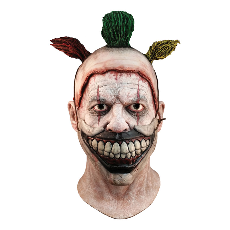 Clownen Twisty Latexmask