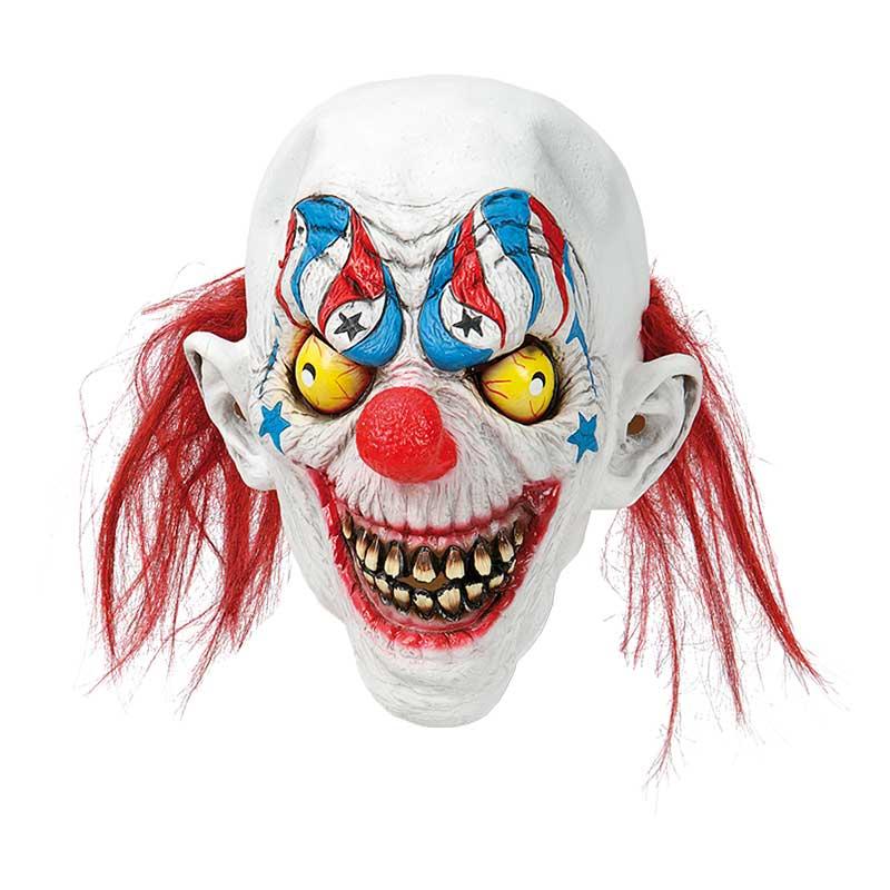 Clownmask med Tänder