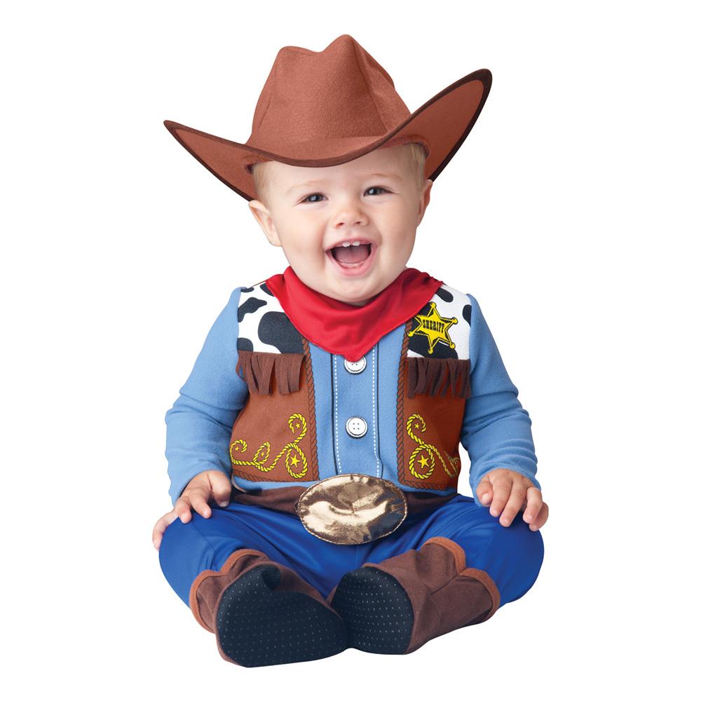 Cowboy Bebis Maskeraddräkt