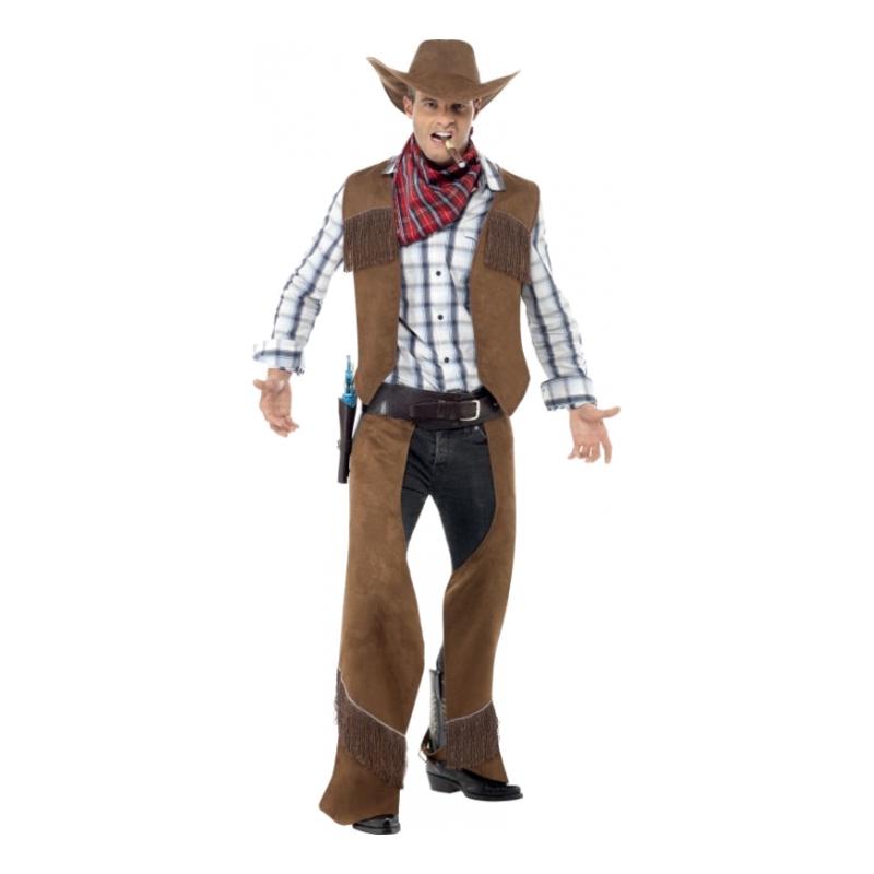 Cowboy Brun Maskeraddräkt