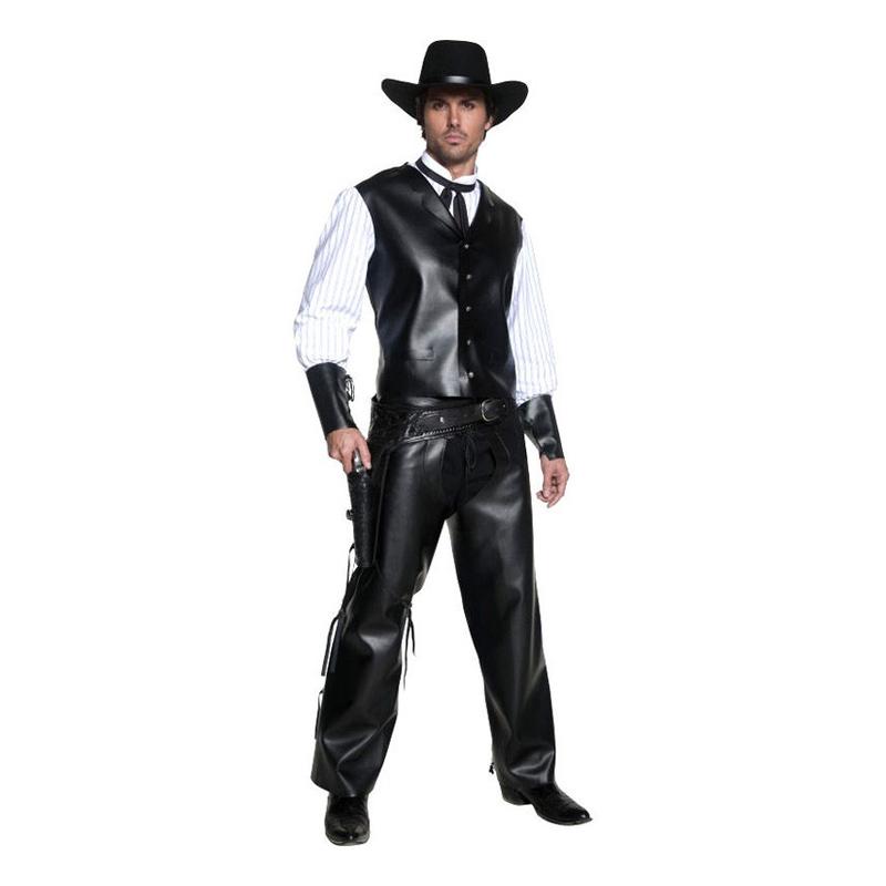 Cowboy Svart Maskeraddräkt