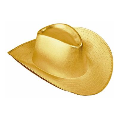 Cowboyhatt Guld