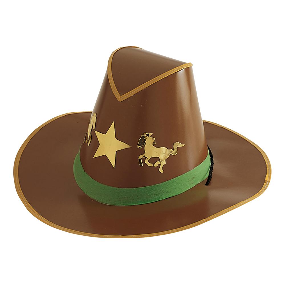 Cowboyhatt i Papp