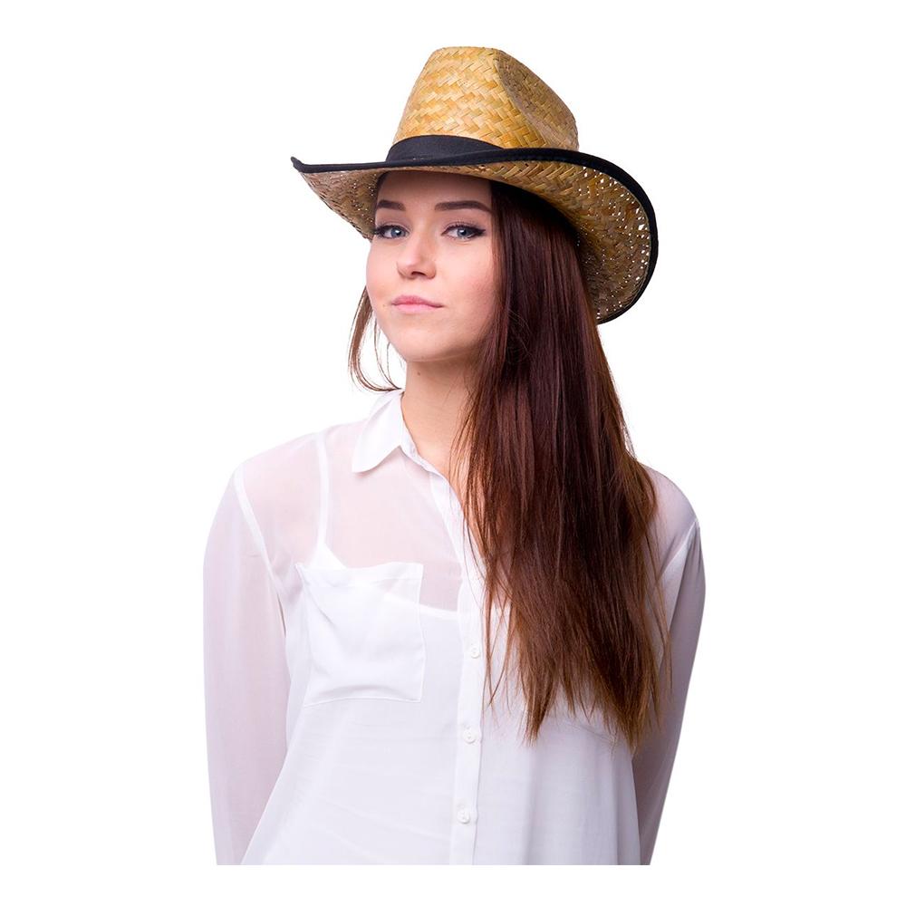Cowboyhatt Strå