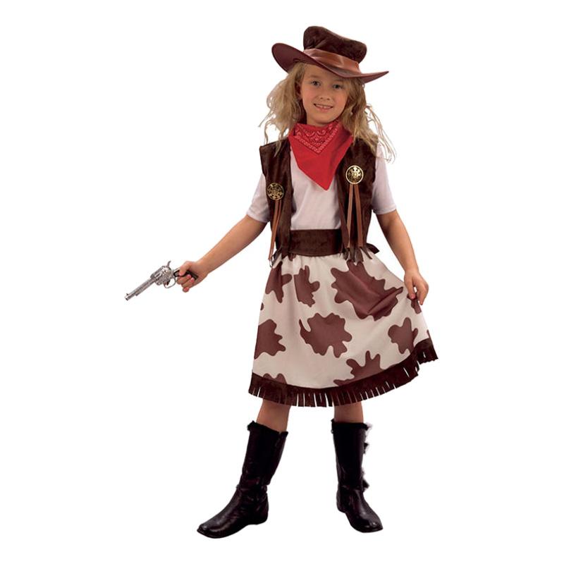Cowgirl Barn Maskeraddräkt