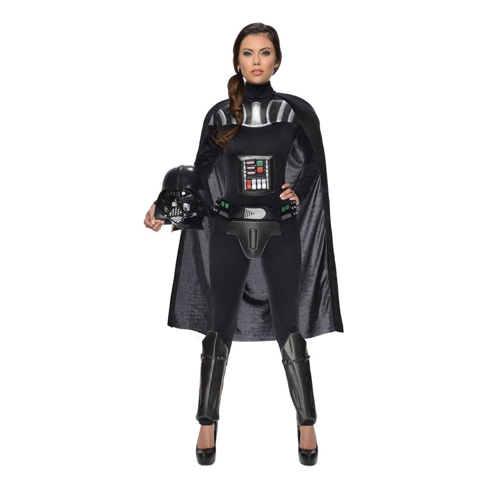 Darth Vader Tjej Maskeraddräkt