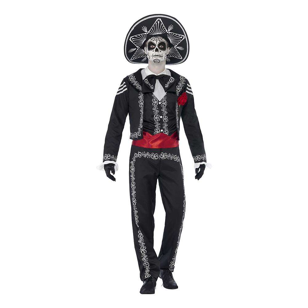 Day of the Dead Señor Bones Maskeraddräkt