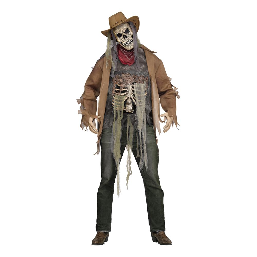 Cowboy Skelett Maskeraddräkt