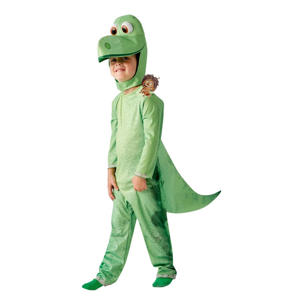Den Gode Dinosaurien Barn Maskeraddräkt