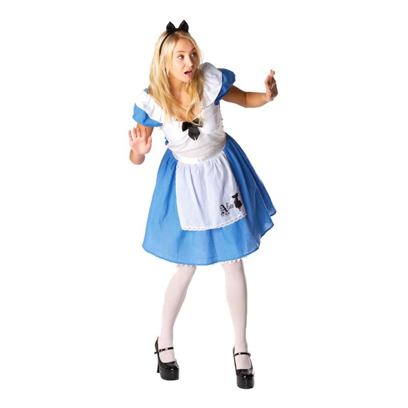 Disney Alice i Underlandet Maskeraddräkt
