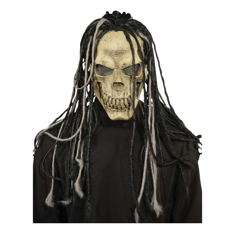 Dödskalle med Dreads Mask