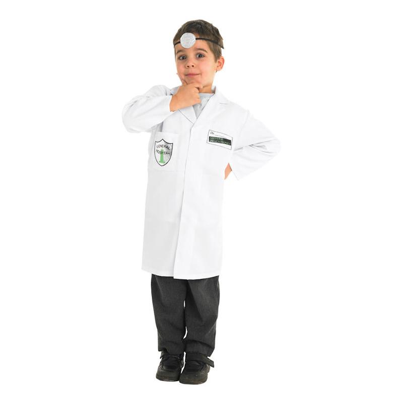 Doktor Barn Maskeraddräkt