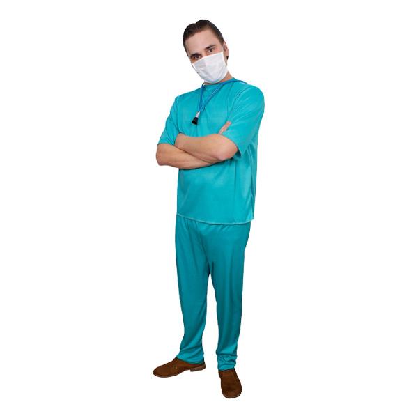 Doktor Budget Maskeraddräkt