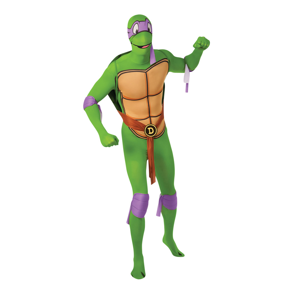 Donatello Second Skin Maskeraddräkt