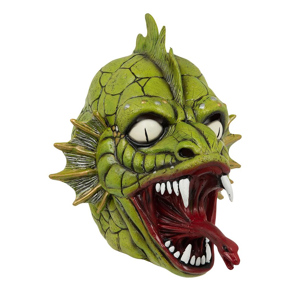 Skräcködla Latexmask