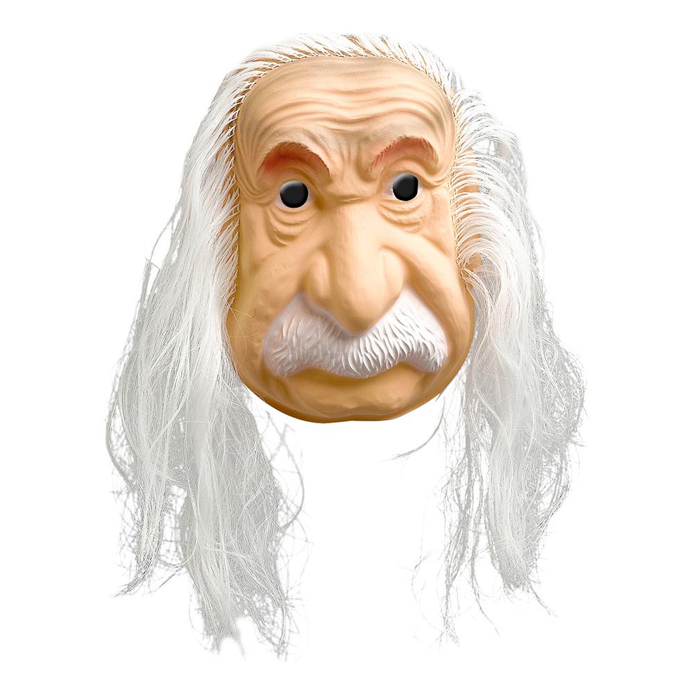 Einstein Mask med Hår