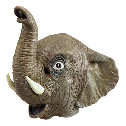Elefantmask i Gummi