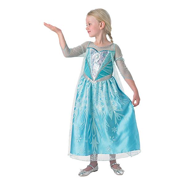 Elsa Deluxe Barn Maskeraddräkt