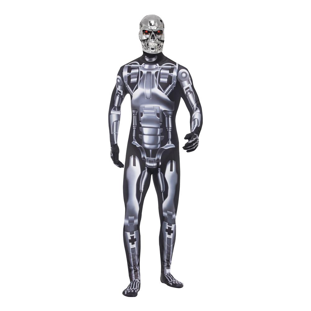 Endoskelett Robot Maskeraddräkt