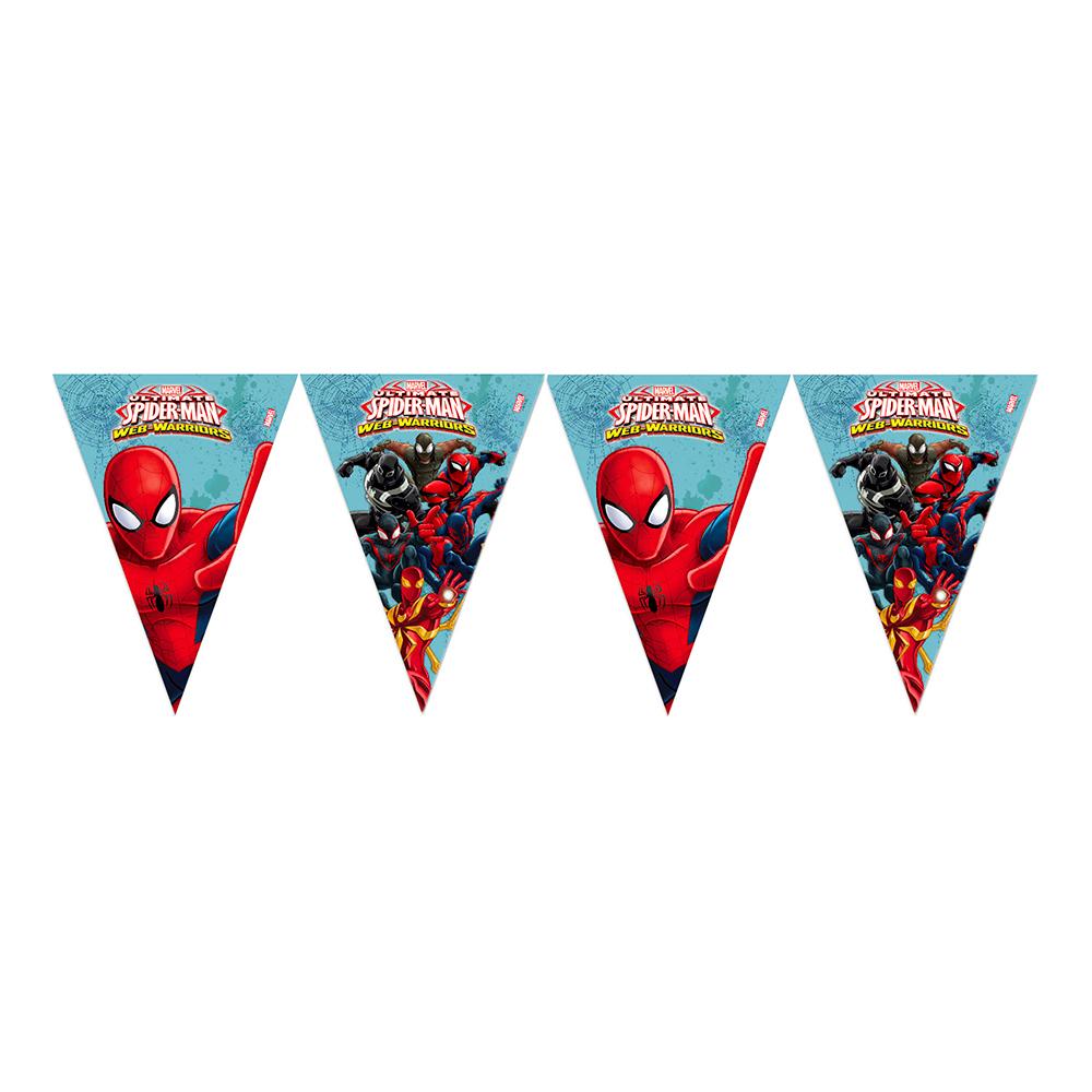 Flaggirlang Spiderman