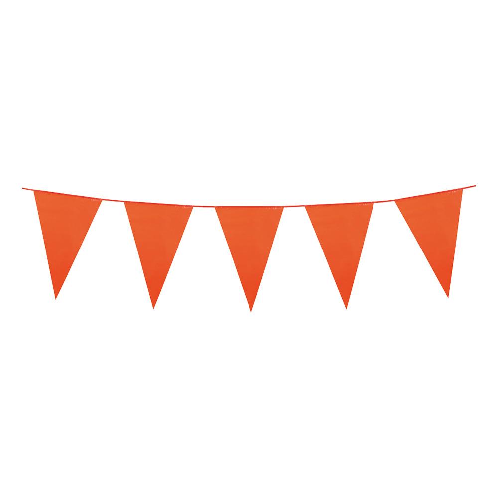 Flaggirlang Stor Orange