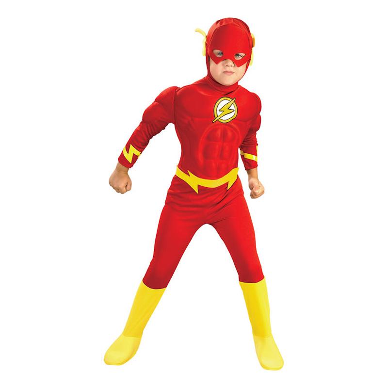 Flash med Muskler Barn Maskeraddräkt